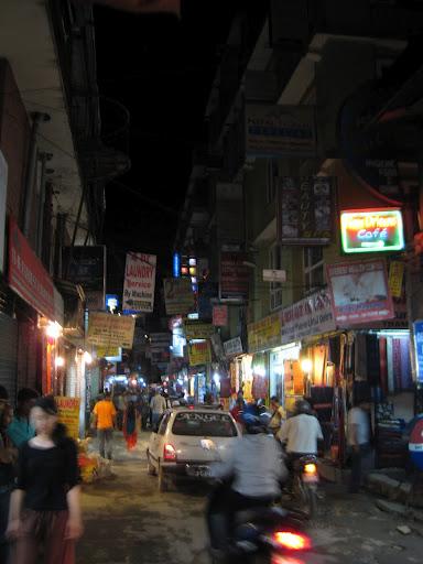 Thamel street
