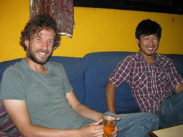 Drew and Sunil