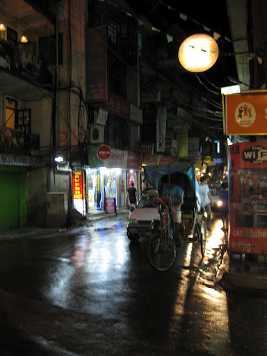 Thamel at night