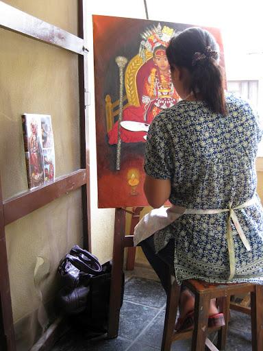 Kumari painting