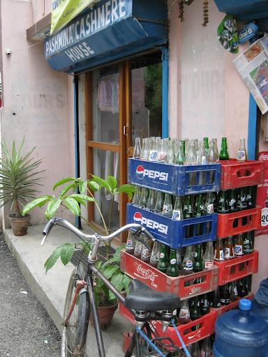 Corner store bottles
