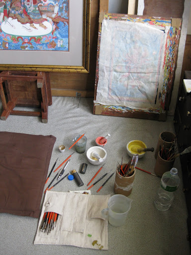 Lok Chitrakar studio 1