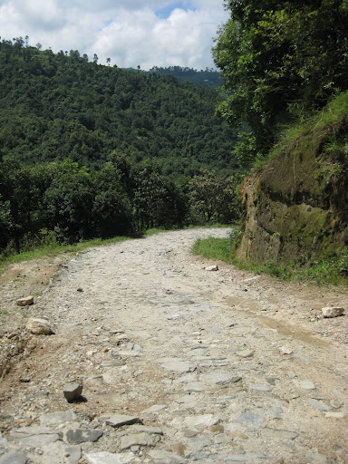 The road to Sankhu