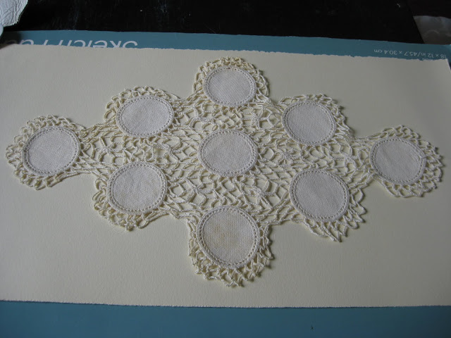 Doily imprints