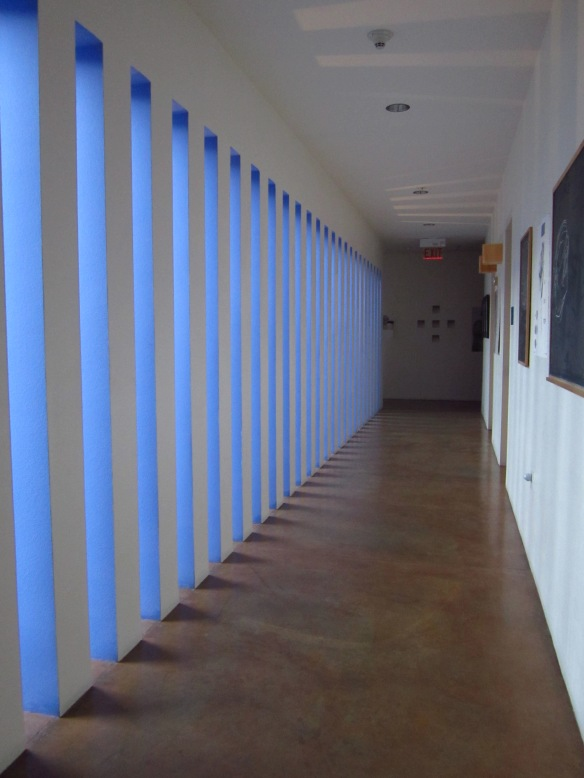... and the corridors...