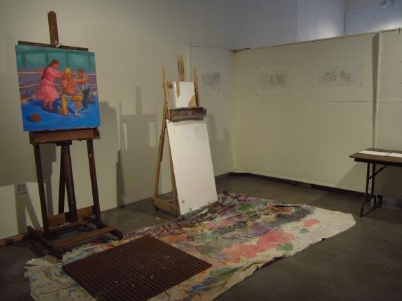 Fidencio's studio...