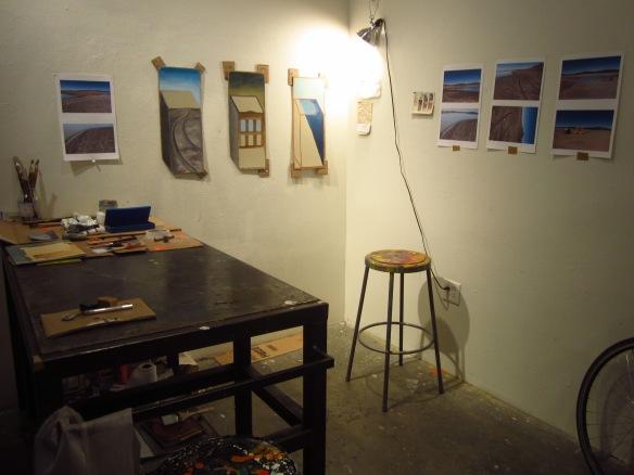 Faith's studio...