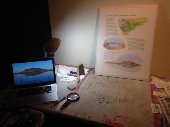 Cynthia's studio...